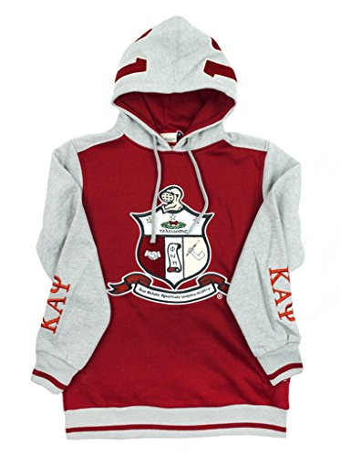 Kappa Alpha Psi Fraternity Mens New Athletic Hoodie Medium Red Alpha Kappa Alpha Sweater