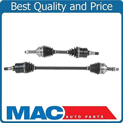 2 100% Brand New CV Axle Shafts Left Right Front Side for Toyota Corolla - Toyota Cv Corolla Axle