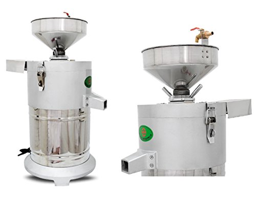 Commercial aluminum alloy Healthy Nutrition Soymilk Maker Commercial large Soymilk Maker Soybean Milk machine Electric fiberizer Automatic Soya Milk and Dregs separater Splitter 150kg/h by CGOLDENWALL (Image #1)'
