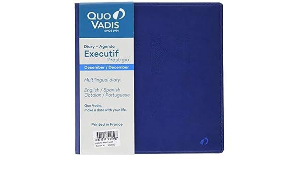 Quo Vadis Executif Prestige - Agenda 2019, diseño Moonrise ...