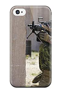 David R. Spalding's Shop Hot Series Skin Case Cover For Iphone 4/4s(soldier)