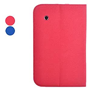 Imecoo Pig Pattern PU Leather Full Body Case with Stand for Samsung Galaxy Tab2 7.0 P3100 (Assorted Colors) --- COLOR:Pink