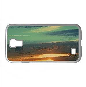 Dutch Sunset Watercolor style Cover Samsung Galaxy S4 I9500 Case (Sun & Sky Watercolor style Cover Samsung Galaxy S4 I9500 Case)