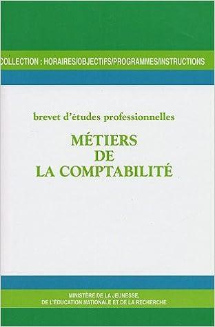 Livre gratuits Métiers de la comptabilité : Brevet d'études professionnelles epub, pdf