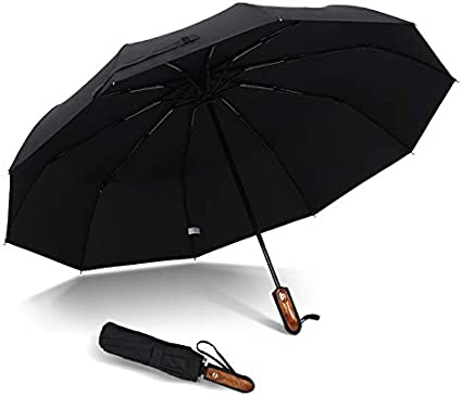 Spider Web Automatic Open Folding Compact Travel Umbrellas For Women