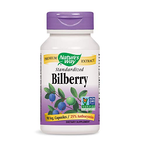 Natures Way Bilberry 90 Capsules