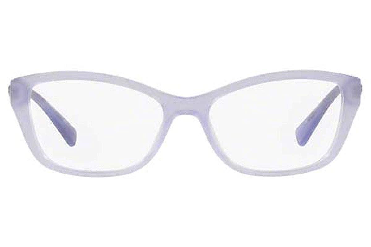 Versace Womens VE3236 Eyeglasses Opal Lilac 52mm