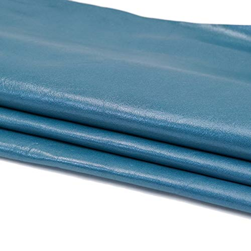 Springfield Leather Company Colorful Lambskin (Blue Jean)
