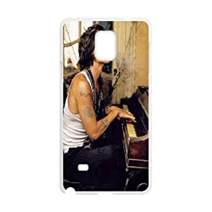 T-TGL(RQ) Samsung Galaxy Note 4 Durable Phone Case Johnny Depp with Hard Shell Protection
