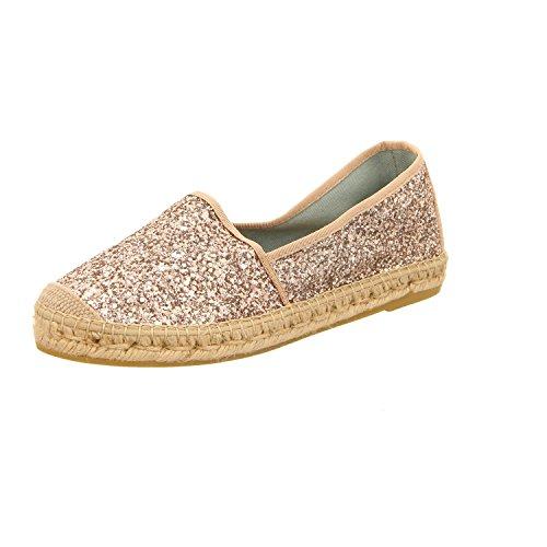 femme lacets ville Rose Chaussures Vidorreta 00700ggptglitter pour Doré à de UtX014wxq