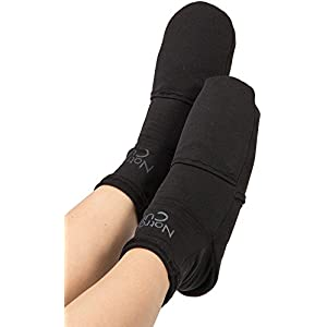 NatraCure Cold Therapy Socks - Gel Ice treatment for feet, heels, swelling, arch pain - (Sizes: Small/Medium or Large)