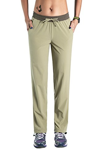 (Nonwe Women's Outdoor Running Quick Dry Hiking with Light Weight Pants Boa XL/32)
