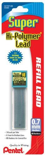 Pentel Hi Polymer Lead 30pcs C27 HB