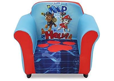 Delta Children Plastic Frame Upholstered Chair