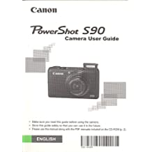 Canon PowerShot S90 Digital Camera Original User Guide / Instruction Manual