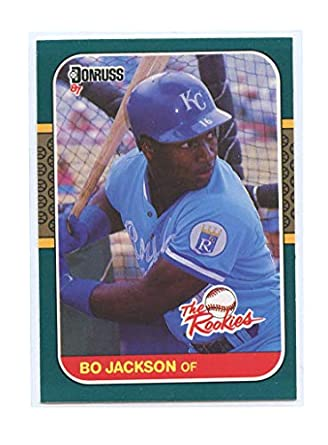 1987 Donruss The Rookies 14 Bo Jackson Kansas City Royals