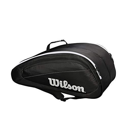 Wilson Fed Team 12 Pack Tennis Bag, - 12 Bags Tennis Racquet Bag