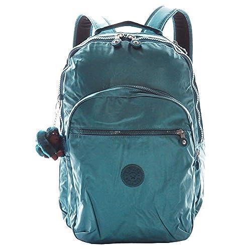 5cf06cdcb4 Kipling Seoul Backpack, Metallic Emeralds outlet - www ...