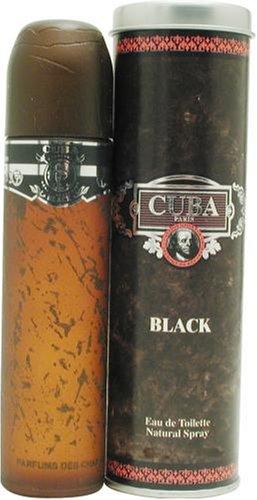 Cuba Black By Cuba For Men. Eau De Toilette Spray 3.3 -