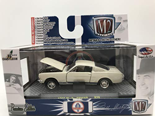 M2 Machines Shelby 1965 Shelby GT350 1:64 Scale R29 15-09 Cream Details Like NO Other! Over 42 Parts