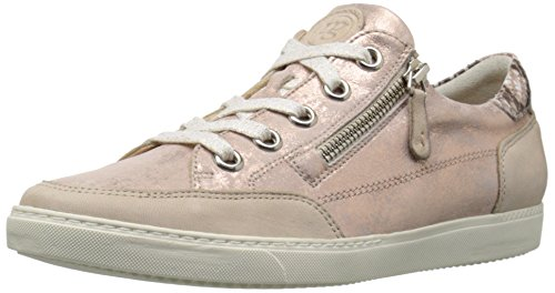Paul Green Women's Wilson Fashion Sneaker, Sabbia Rose Combo, 7.5 M US