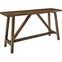 Ameriwood Home Bennington Console Table, Rustic
