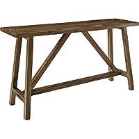Ameriwood Home Bennington Console Table, Rustic