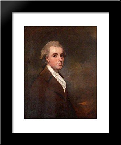 (Henry Hoare, Esq. of Mitcham Grove, Surrey (1750-1828) 20x24 Framed Art Print by George Romney)
