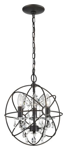 Three Light Pendant By Sterling Industries