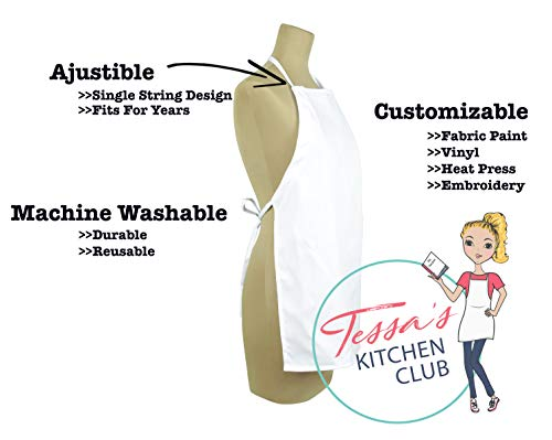 Tessa's Kitchen Kids -Child's Chef Hat Apron Set, Kids Size, Children's Kitchen Cooking and Baking W - http://coolthings.us