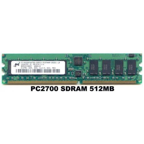 512MB PC2700 333Mhz DDR ECC RAM 184-PIN - Micron
