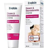 VERGELIJKING: Evolsin® Eczeem & Neurodermatitis Crème I ZONDER CORTISON I Lotion, zalf voor geïrriteerde, droge…