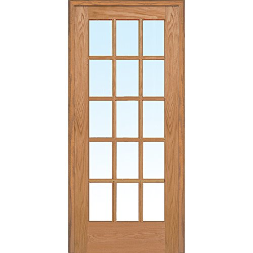 National Door Company Z019996L Unfinished Red Oak Wood for sale  Delivered anywhere in USA