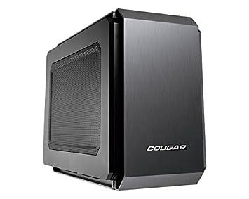 Cougar Qbx Pro Mini Itx - Carcasa de Ordenador para jugado, sin Fuente de alimentación, USB 3.0, hasta 7 Ventiladores, Requiere Tarjetas Gx (QBX) de ...