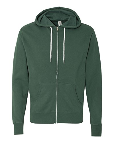Basic Full Zip Hoody Sweatshirt (Independent Trading Co. - Unisex Hooded Full-Zip Sweatshirt - AFX90UNZ)
