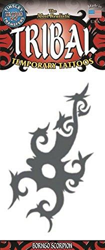 WMU Tribal Borneo Scorpion Tattoo (2 Pack)