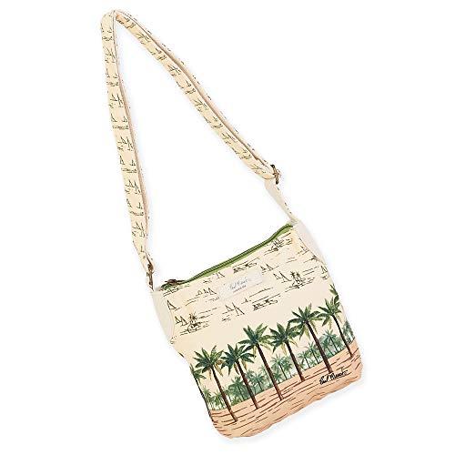 (Paul Brent Palm Island Crossbody Bag 38 (Green))