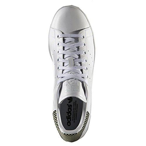 adidas Mens Stan Smith White Leather Trainers 46 EU
