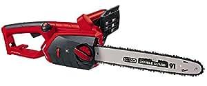 Einhell Expert GE-EC 2240 - Motosierra eléctrica (2200 W, largo de hoja 40 cm, cadena con lubricación automática, velocidad de corte 16 m/s, cadena y espada Oregon)