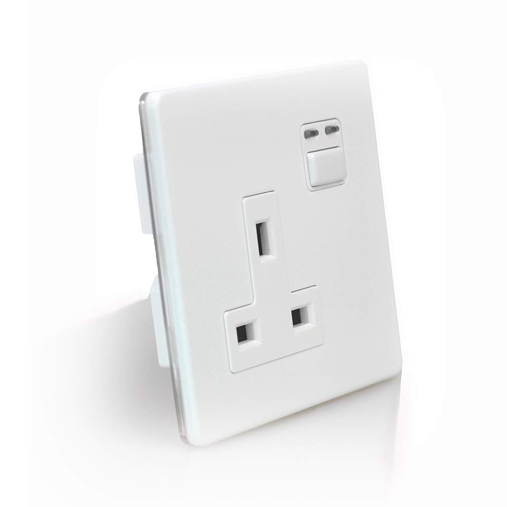 Lightwave JSJSLW260WH LW260WH Connect Series Smart Socket White 1 Gang