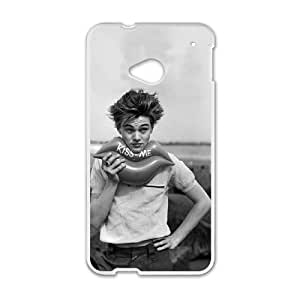 HTC One M7 Cell Phone Case White Leonardo Dicaprio tvb
