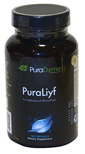 Puradyme Puraliyf Probiotic Enzymes Dietary Supplement - 180 Caps. By Lou Corona