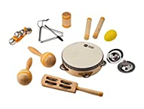 Monoprice 10-Instrument Percussion Set For Kids