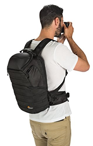 "4110l09iPBL - Lowepro ProTactic 350 AW - A Professional Camera Backpack for 1-2 Pro DSLR Cameras and 13"" Laptop"
