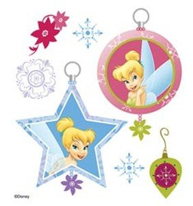 Disney(R) Dimensional Stickers - Tinker Bell Holiday Ornaments