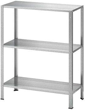 60x27x140cm Ikea HYLLIS Regal verzinkt; f/ür Drinnen und drau/ßen;