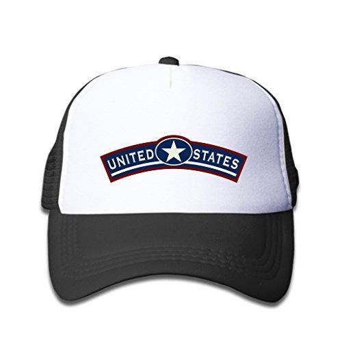 Baseball Caps United States Armband Black White Hat (Best Nespresso Refillable Capsules)