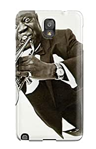 Premium louis Armstrong Case For Galaxy Note 3- Eco-friendly Packaging