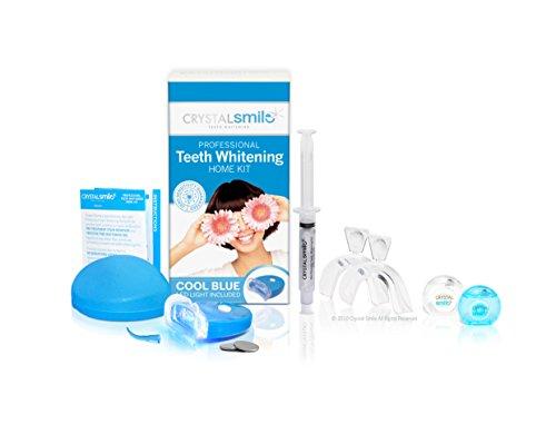 Crystal Smile light Zahnaufhellung Home Kit - teeth Whitening Home Kit . EU & UK genehmigt und Peroxide frei. Alle Produkte werden in der USA hergestellt. Zähne Bleichen & Zähne Aufhellen.