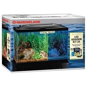 Marineland Aquaria Amlpfk20b Biowheel Aquarium Kit With